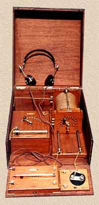 Antique Radio Sets.