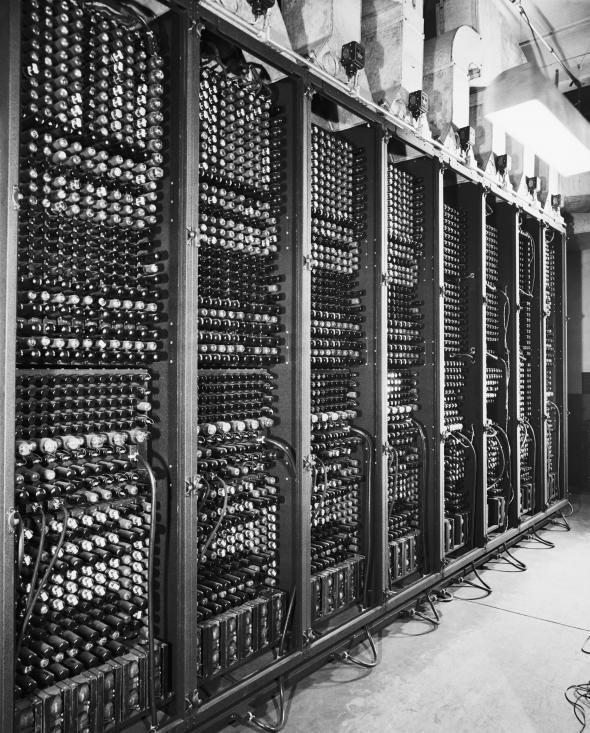 Elec Tubes in ENIAC