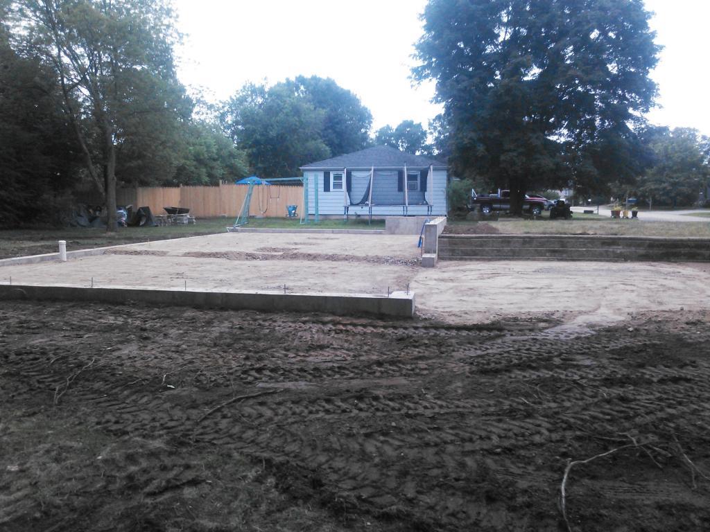 garage excavation complete