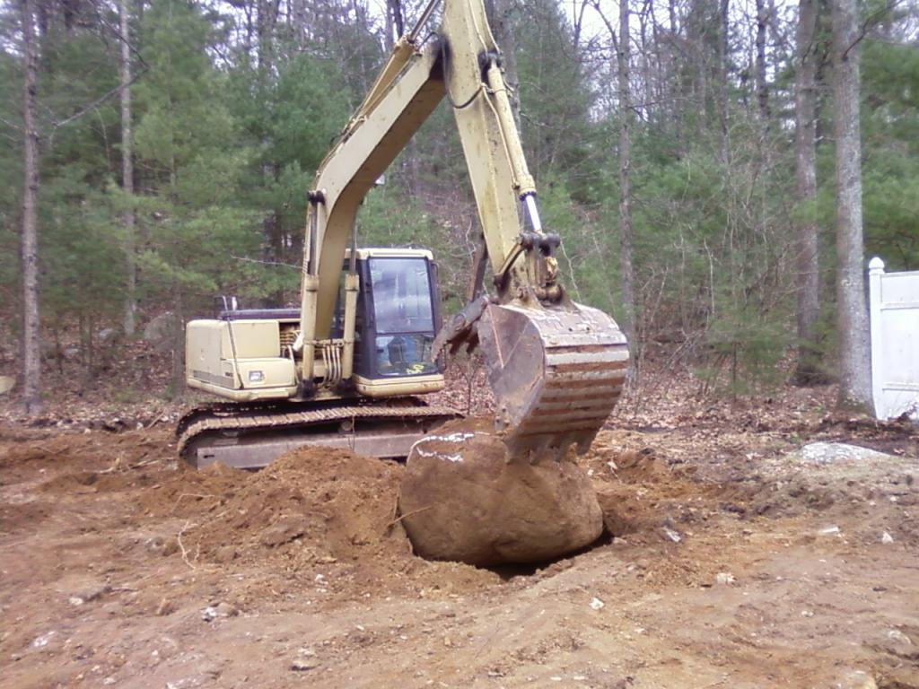 large rock removal