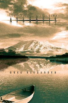 Cover photo of Greg Alexander's book on Atlantis.