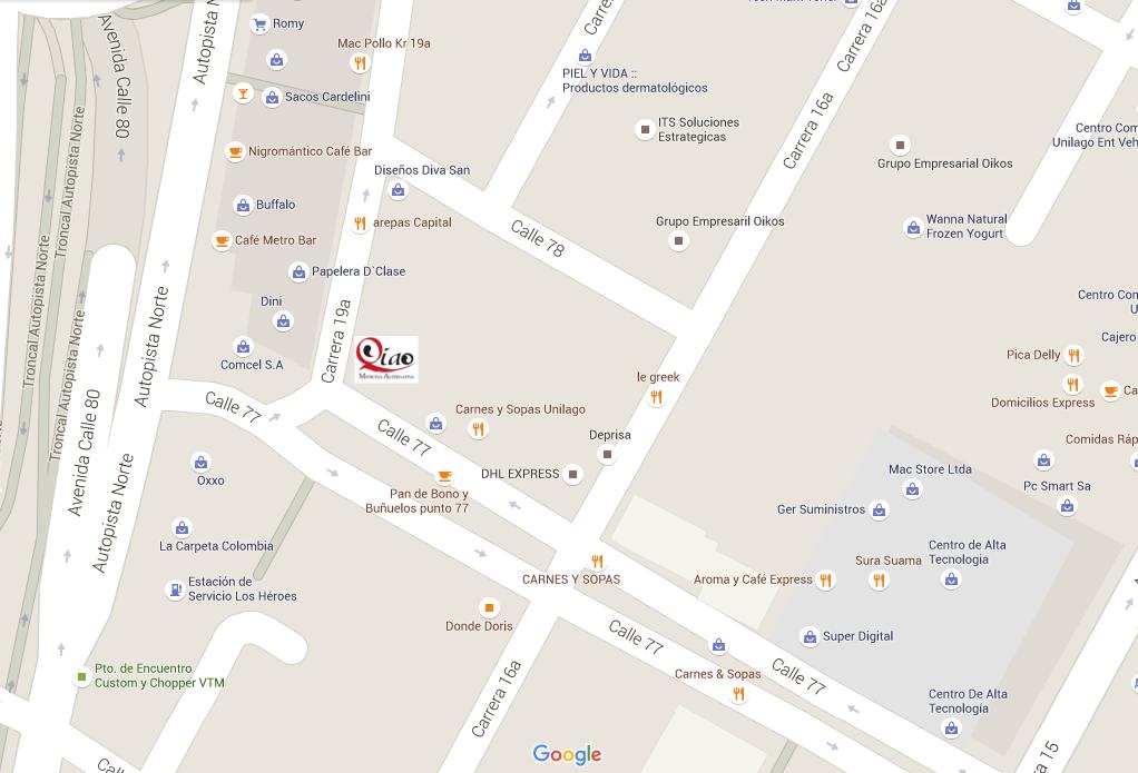 Mapa QIAO