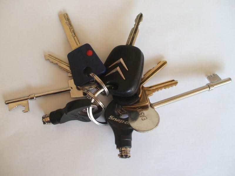 Locksmiths keys