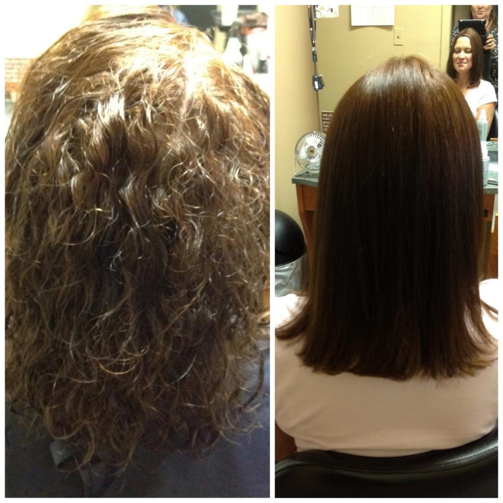 brazilian blowout pictures before and after pictures of