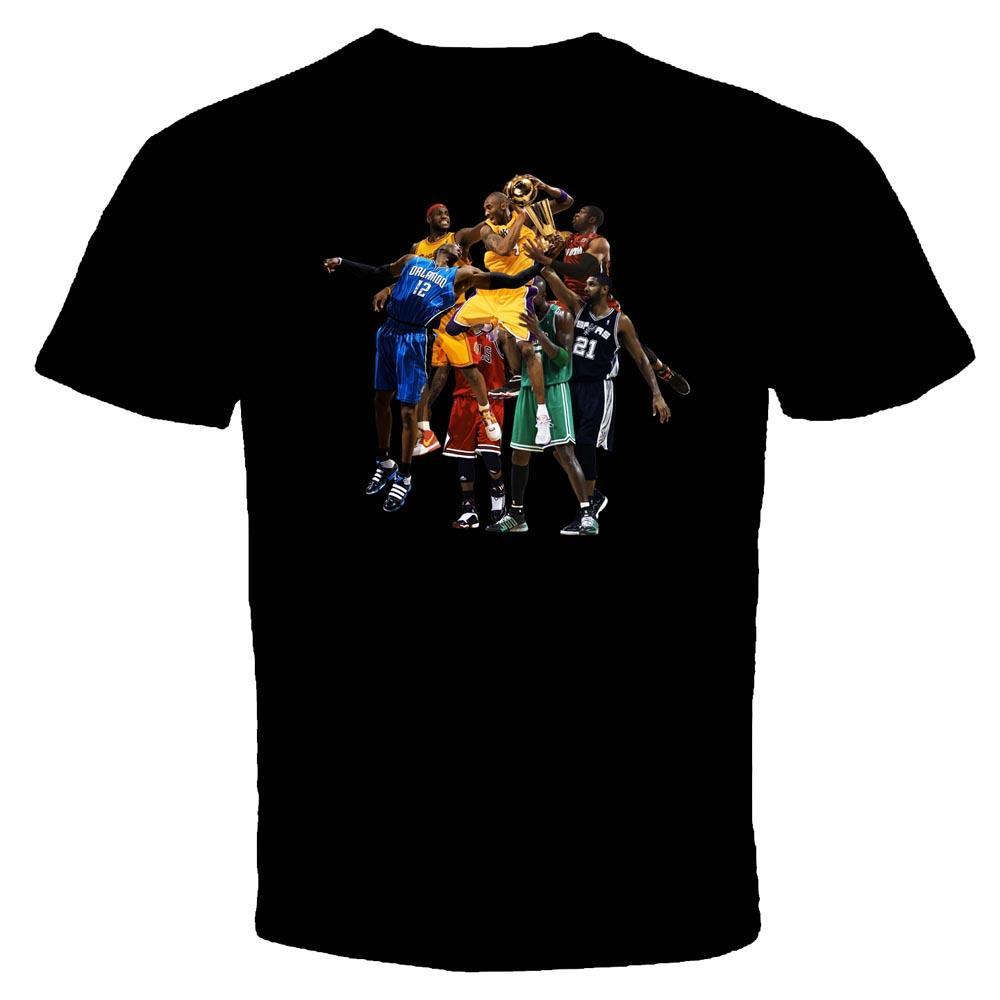 Home Personal Design Charcoal Drawing Basketball Wallpaper T-shirt ...