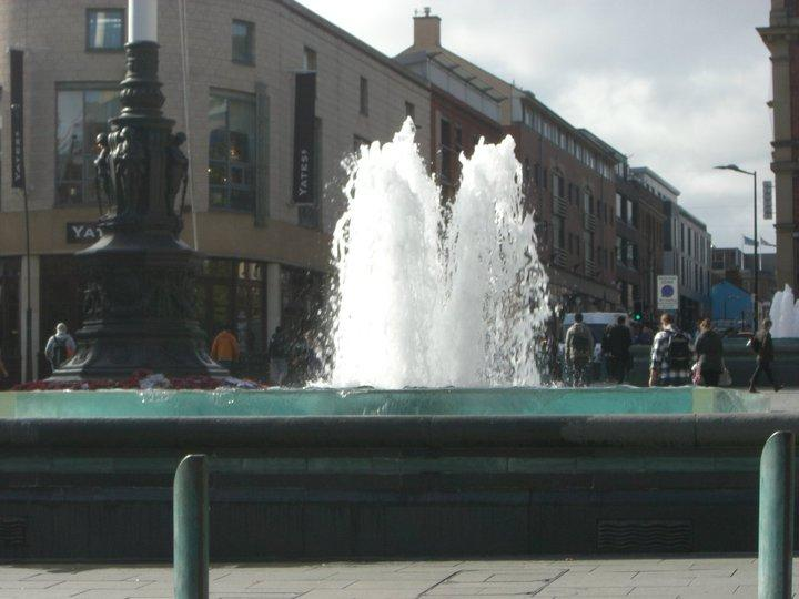 City Hall Fountain Feature