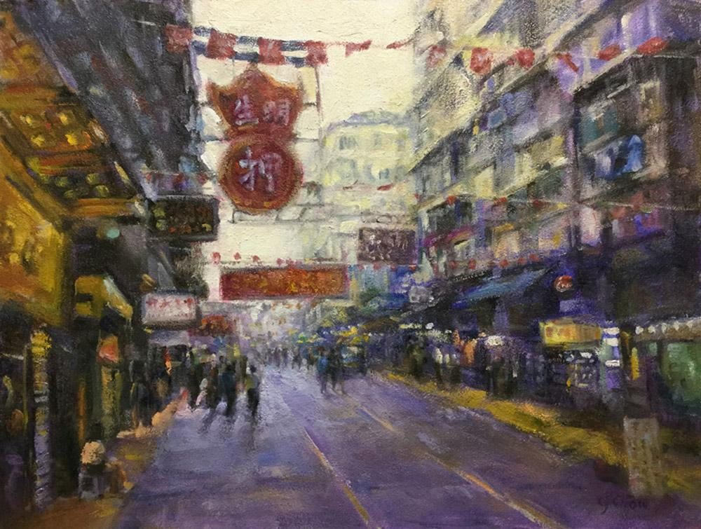 Streets of Hong Kong by Gloria Chow