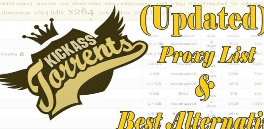 Best Kickass Proxies for 2020 [Updated List] and Best Kickass Alternatives - cover